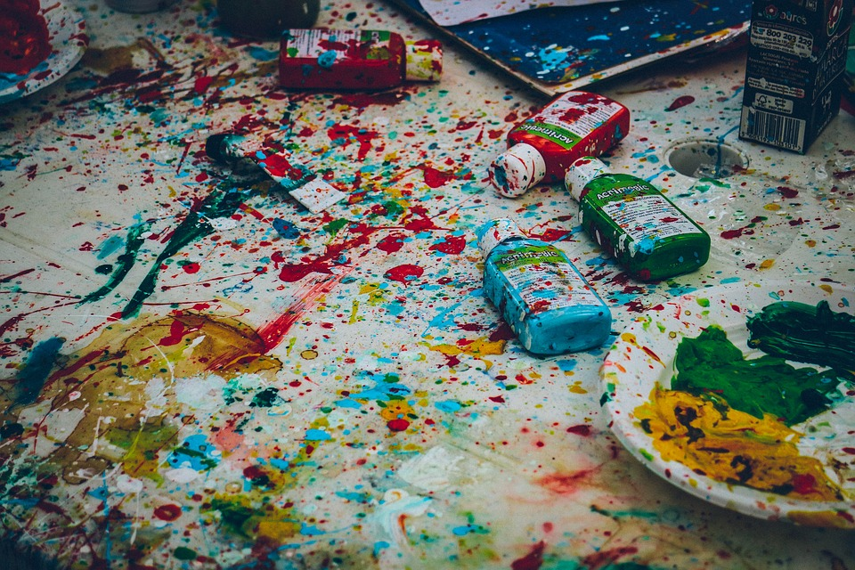 Tips for Cleaning Up After Art Activities